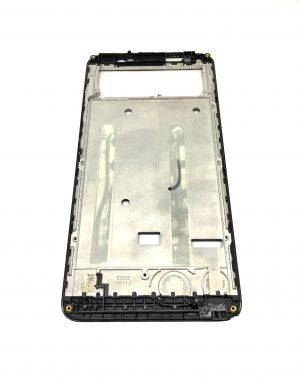 Рамка дисплея Nomi i5510 Space M черная Оригинал с разборки