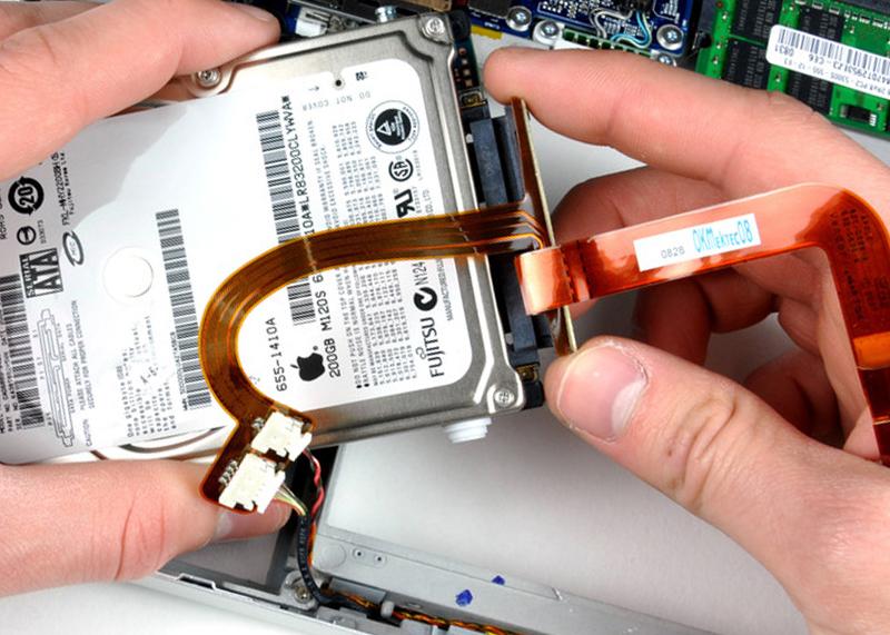 Ремонт и замена межплатного шлейфа в ноутбуке